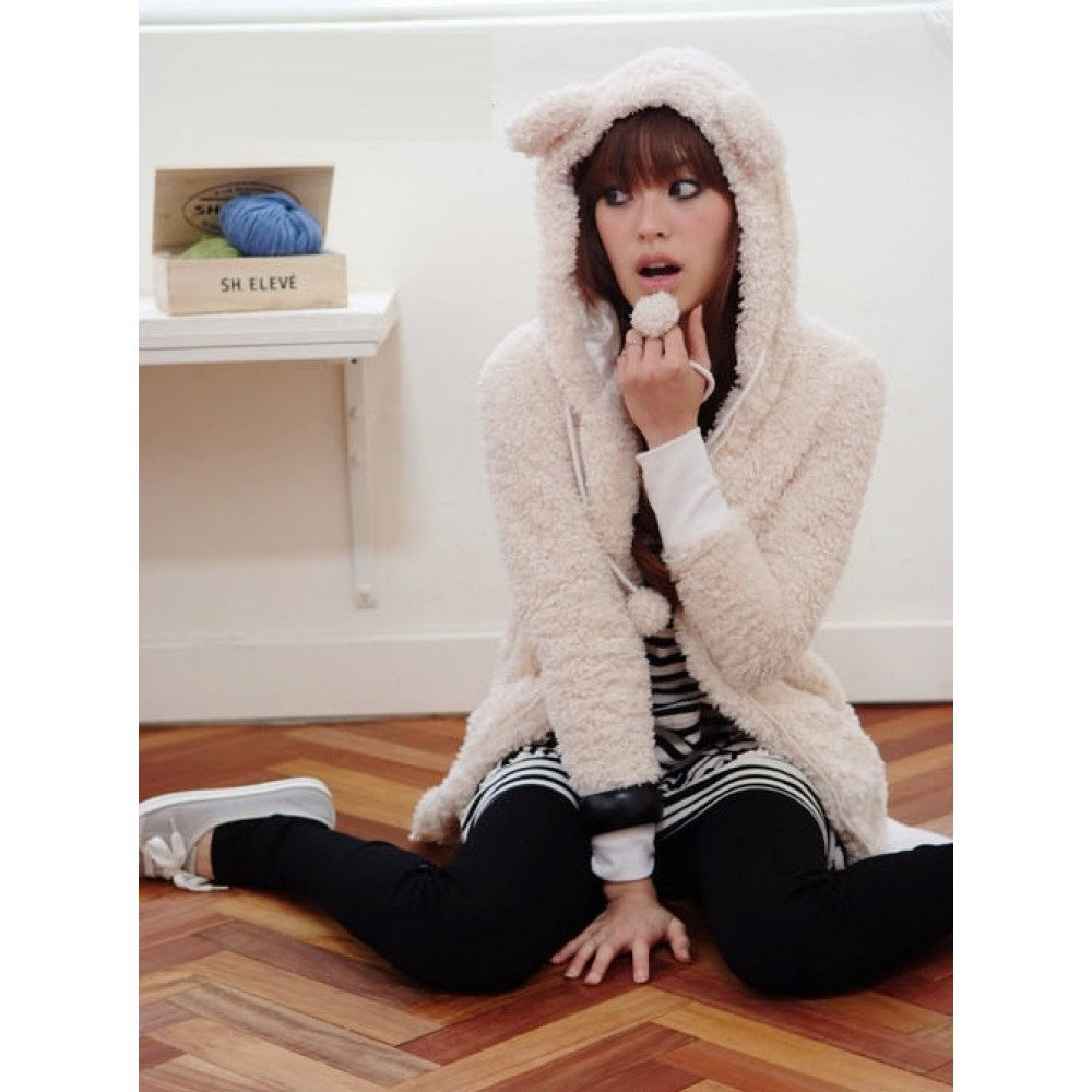 Bear Hoody - 6145#