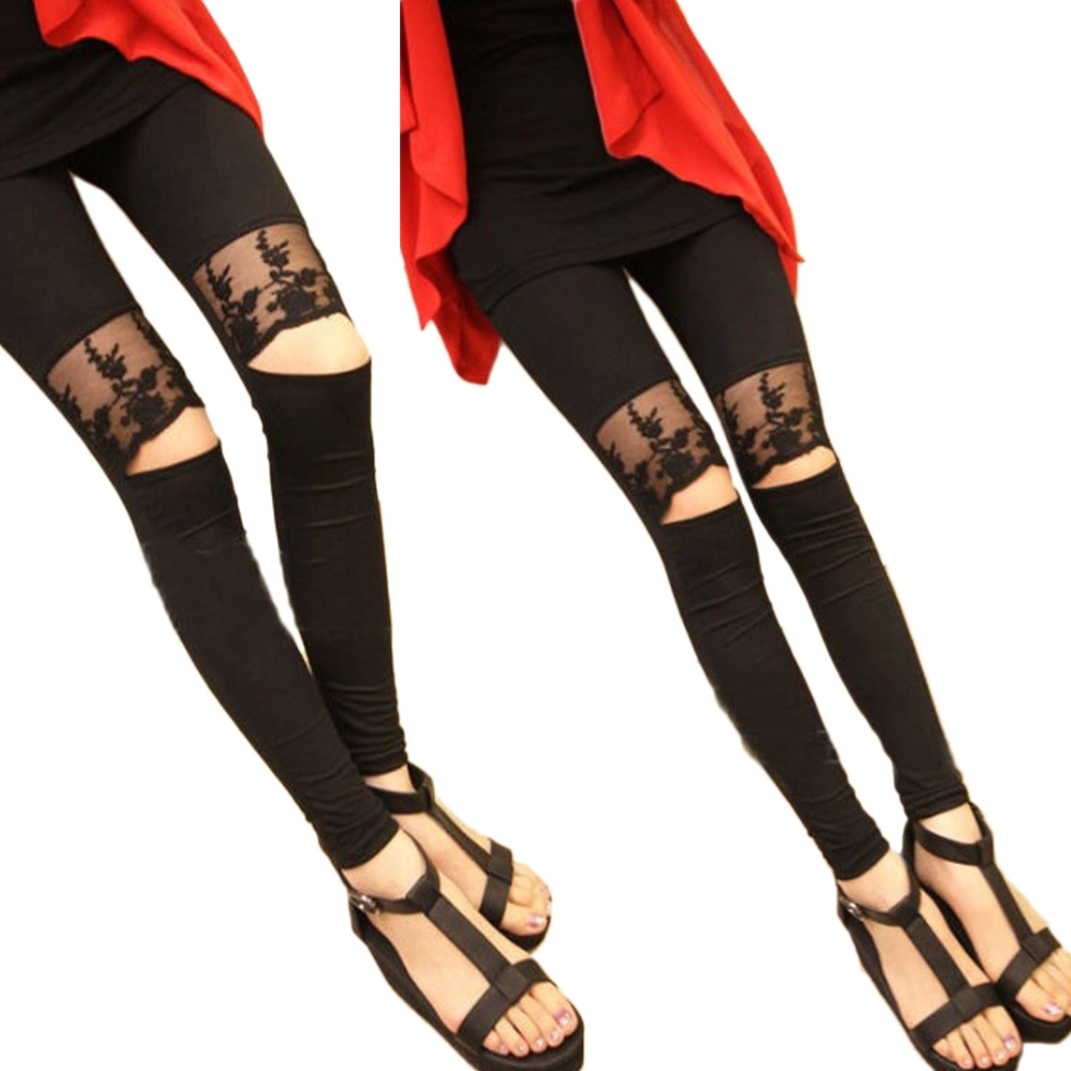 Chic Leggings Pants - E103#
