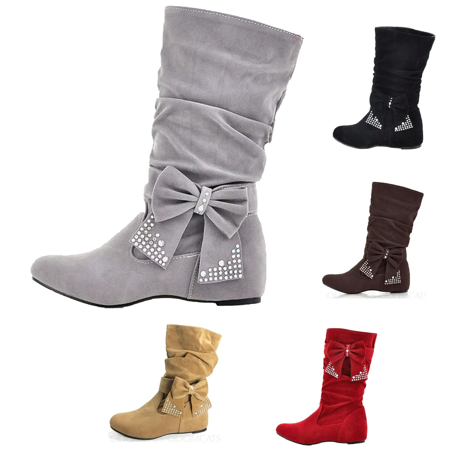 winter shoes womens wedge boots with