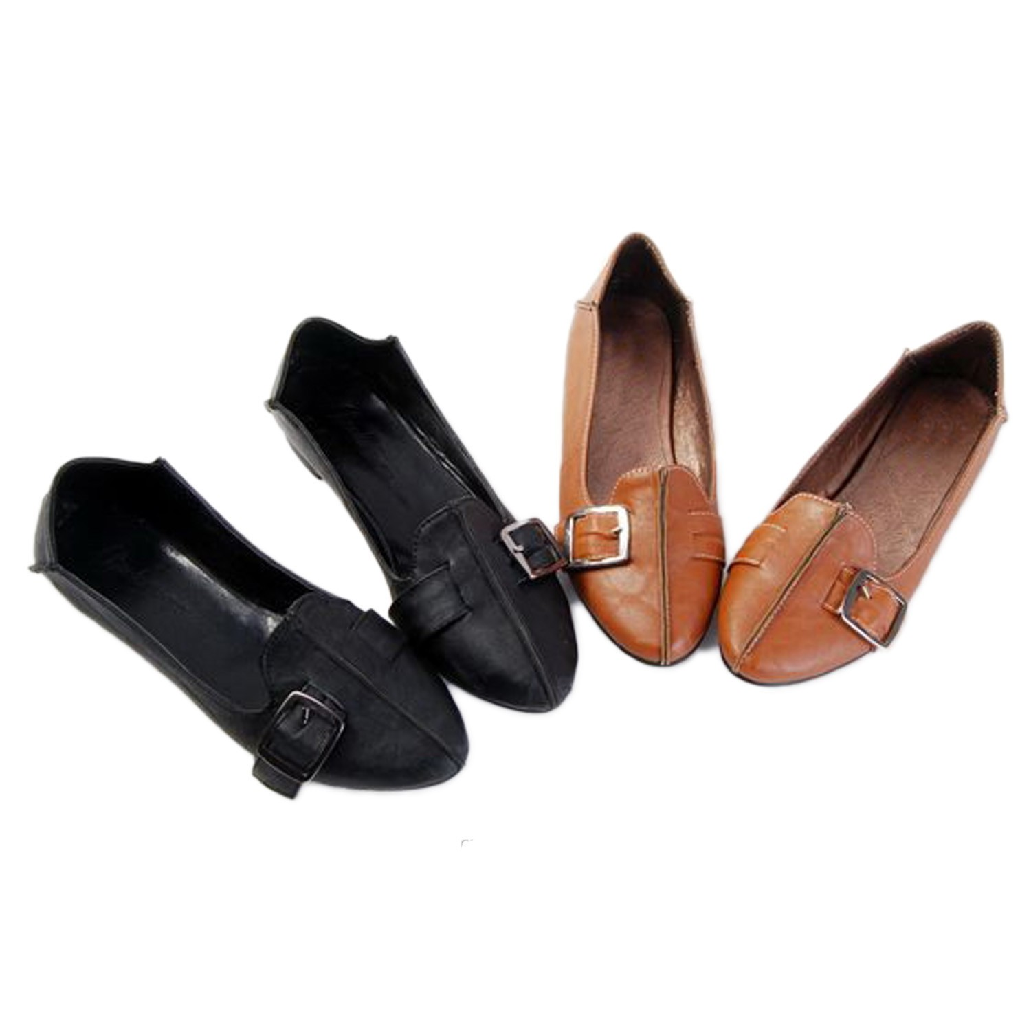 Pointed Toe Ballet Flats Shoes - SF11#